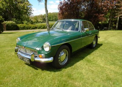 MGB GT with Overdrive 1969