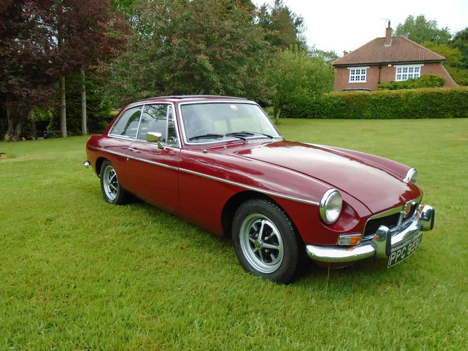 MGB GT with Overdrive 1973
