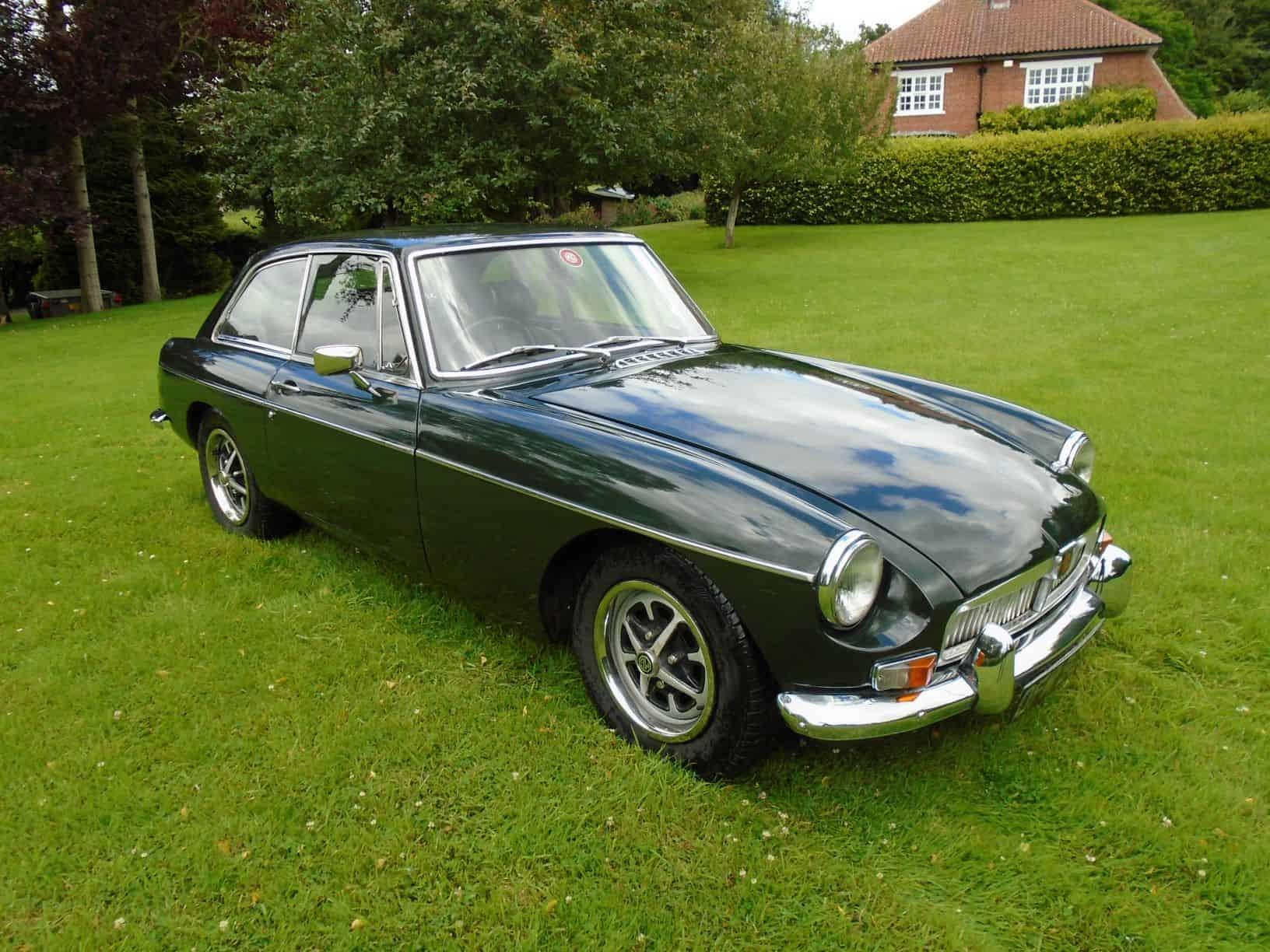 MGB GT 1969