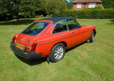 MGB GT with Overdrive 1976 for sale