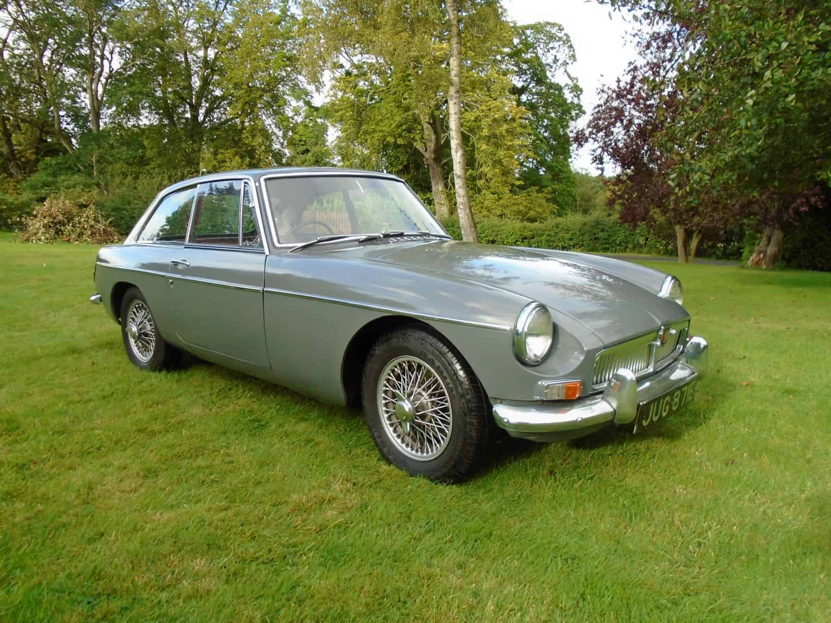 MGB GT with Overdrive 1967 for Sale