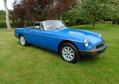 MGB Roadster with Overdrive 1977 for sale