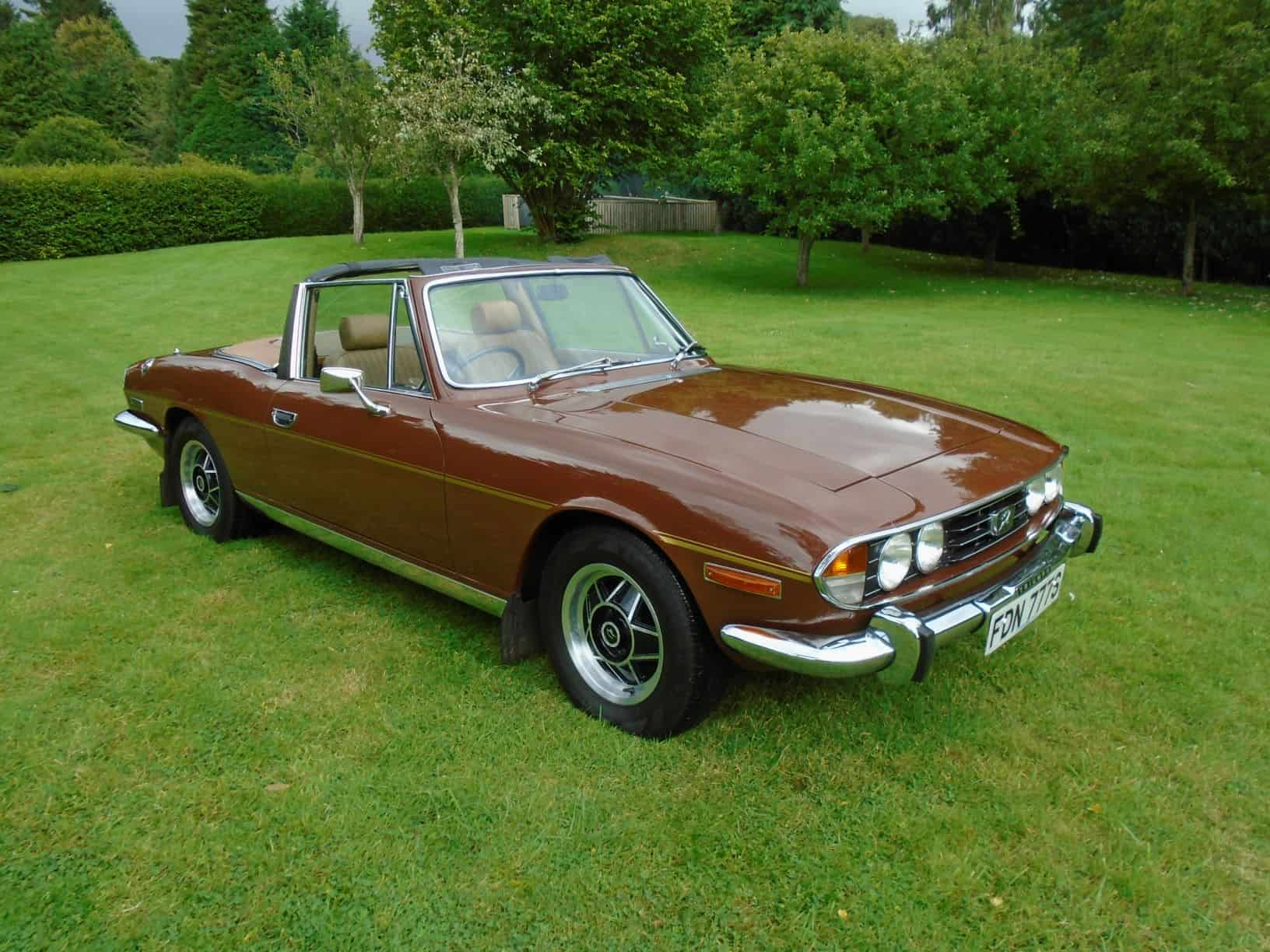 Triumph Stag with Overdrive 1978 for Sale
