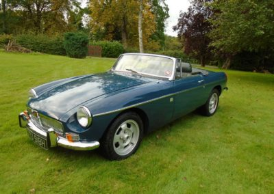 MGB Roadster with Overdrive for Sale