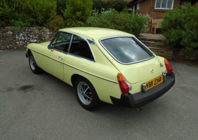 MGB GT with Overdrive 1977 for Sale