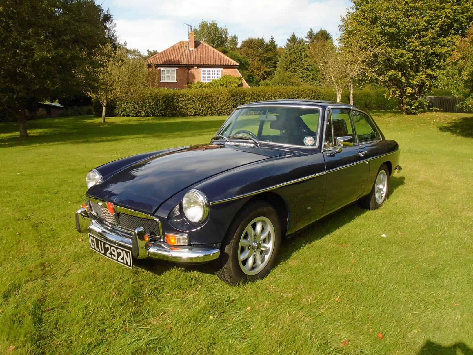MGB GT with Overdrive 1974 for Sale