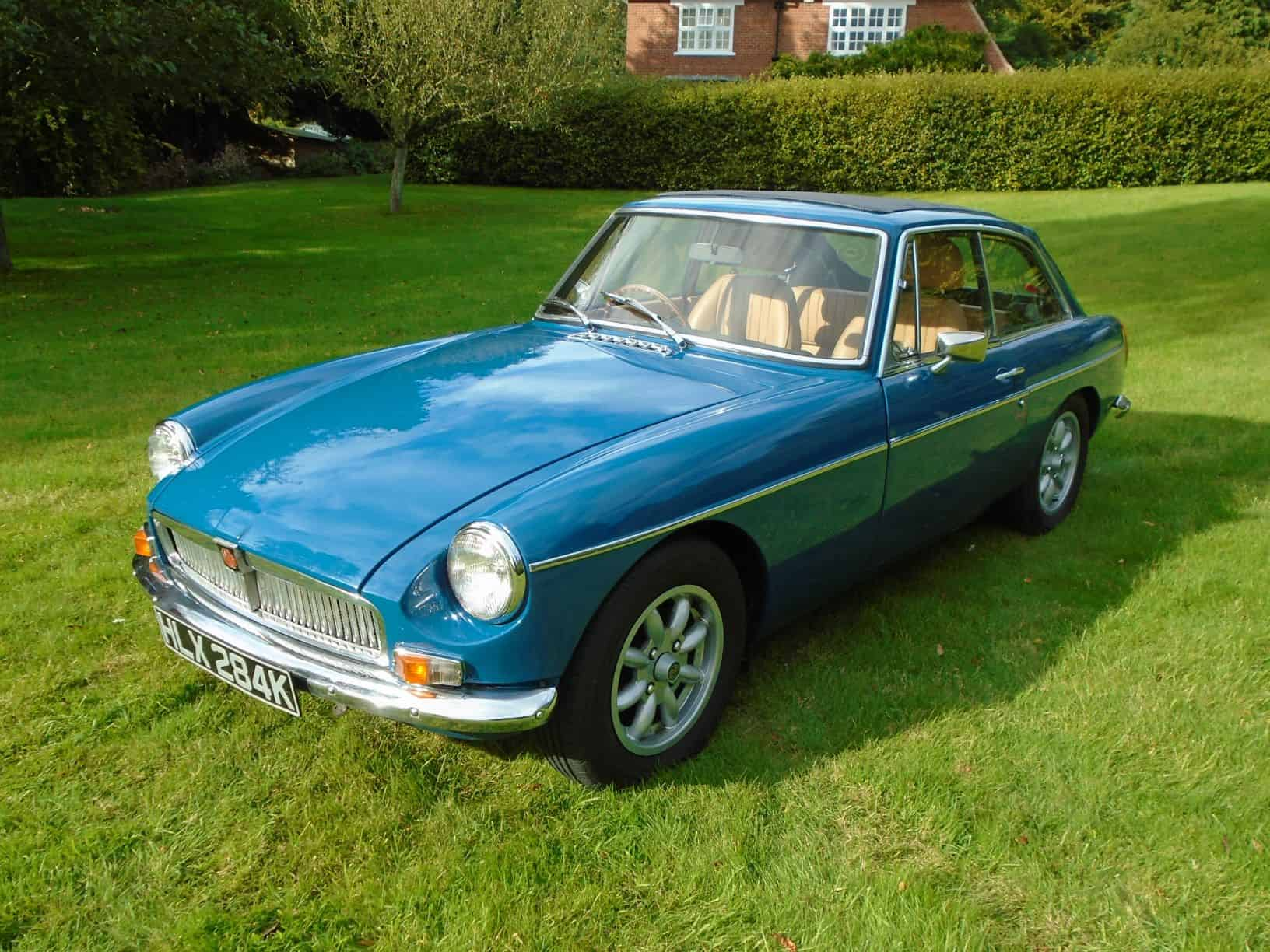 MGB GT with Overdrive 1971 for Sale
