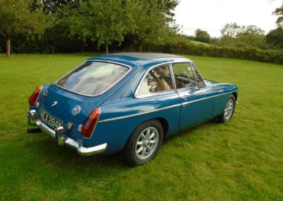 MGB GT 1971 with Overdrive for Sale