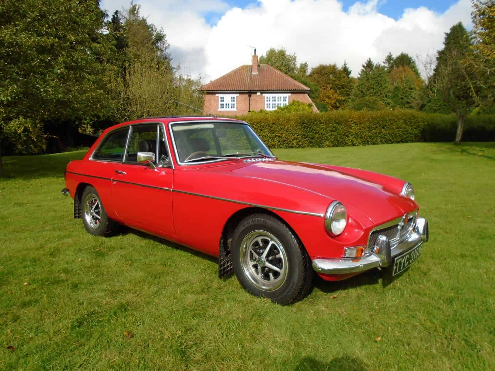MGB GT with Overdrive 1973 for Sale