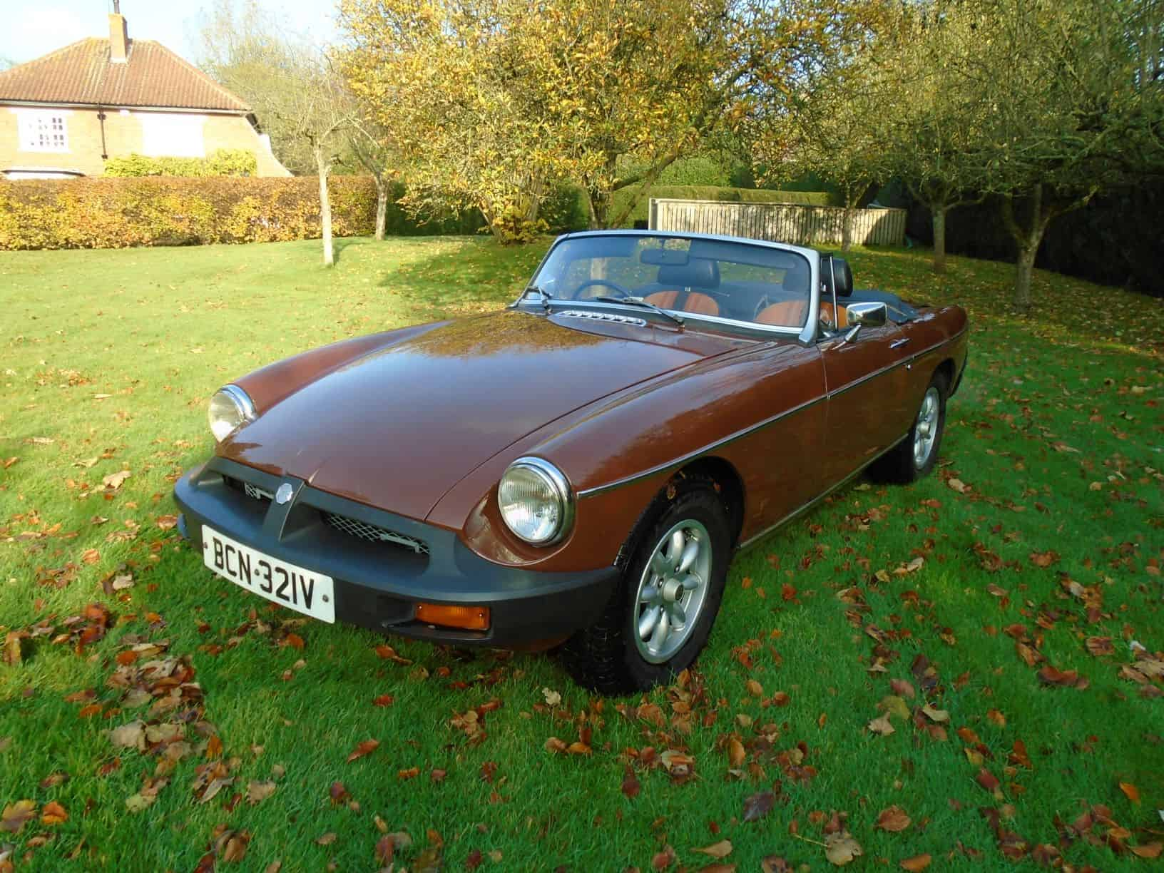 MGB Roadster with Overdrive 1979 for Sale