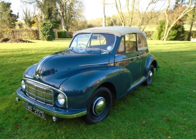 1950 Morris Minor Lowlight Tourer