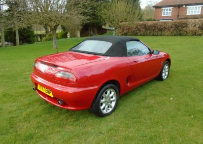 MGF 1.8 (2001) for Sale