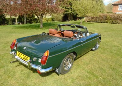 MGB Roadster with Overdrive 1976 for Sale