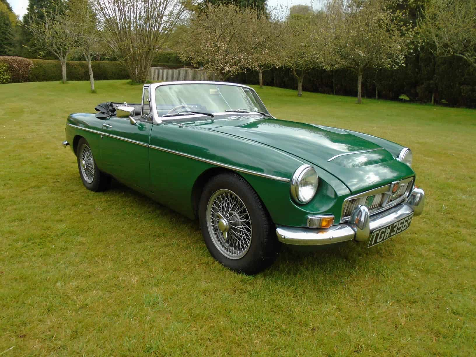 MGC Roadster with Overdrive 1968 for Sale
