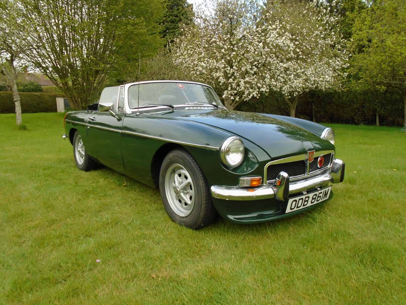 MGB Roadster with Overdrive 1974 for Sale
