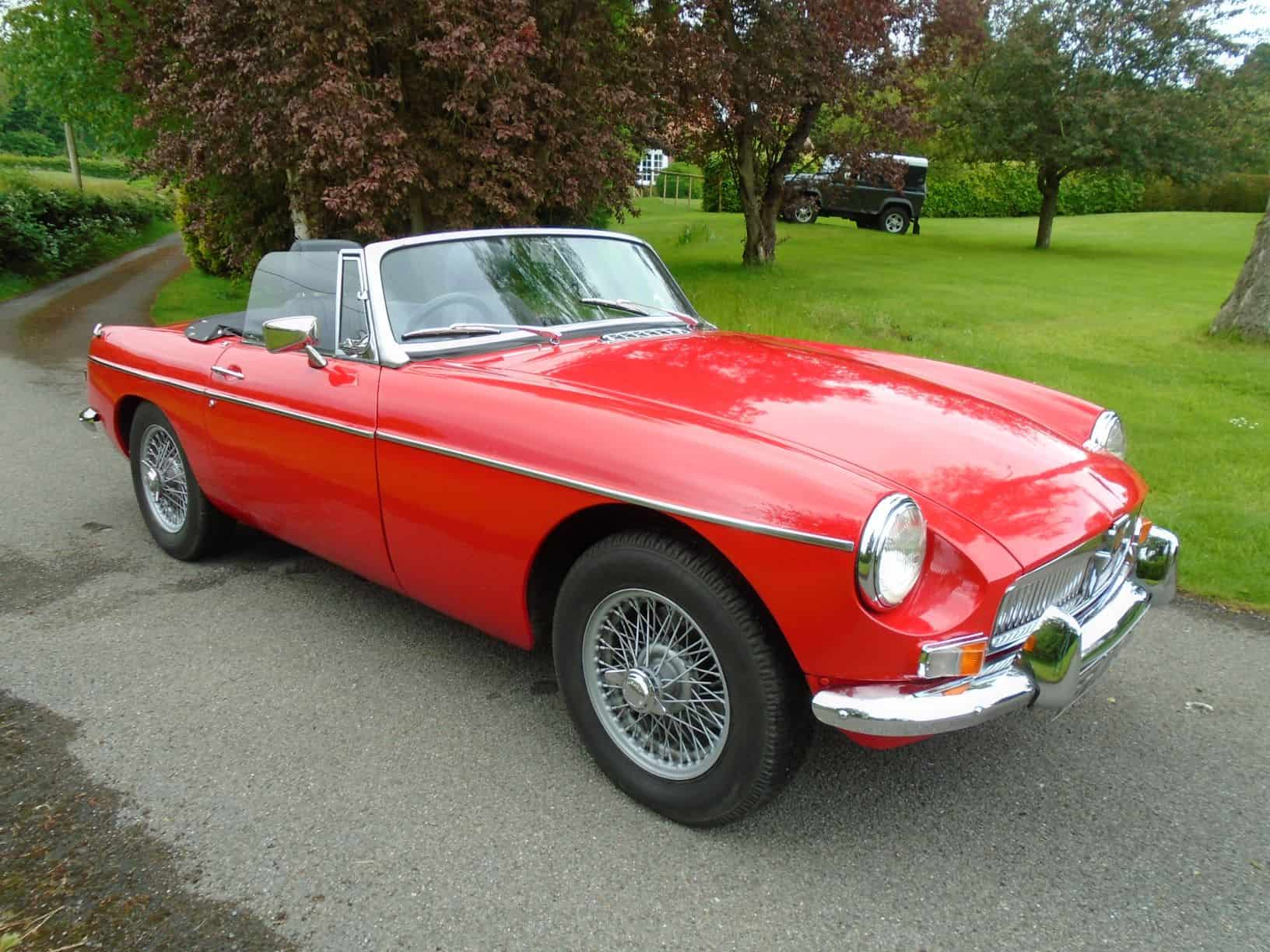 MGB Roadster with Overdrive 1970