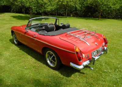 MGB Roadster with Overdrive 1971 for Sale
