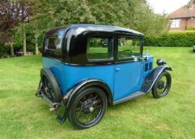 Austin Seven RN Box Saloon 1932