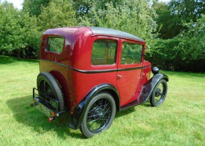 Austin Seven RL Box Saloon 1930