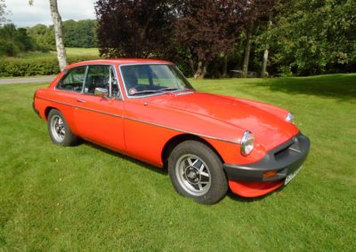 MGB GT with Overdrive 1977