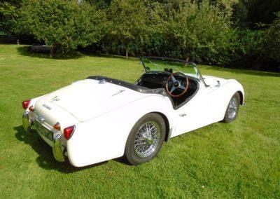 Triumph TR3A 1961