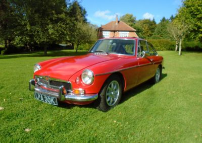 MGB GT with Overdrive 1972 for Sale